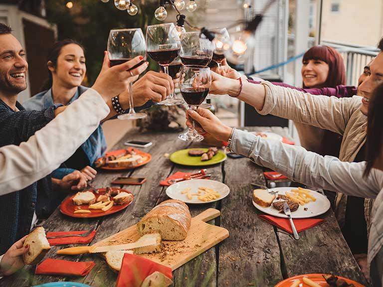 Incentivereisen Incentive Reise Dinner mit Kollegen