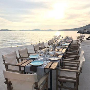 Insel mieten Kroatien Incentivereisen Firmenevent Firmenreisen Dinner Westharbour