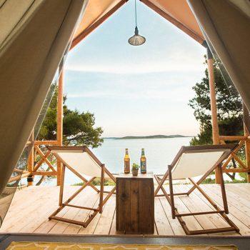 Insel mieten Kroatien Incentivereisen Firmenevent Firmenreisen Unterkunft Forest Lodge